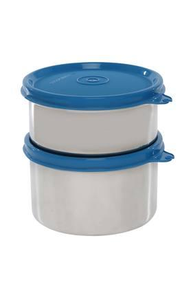 Round Executive Lunch Box with Bag Set of 2 - 500ml