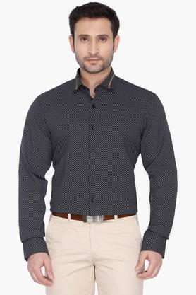 Wilsty Formal Shirts (Men's) - Mens Regular Collar Printed Shirt