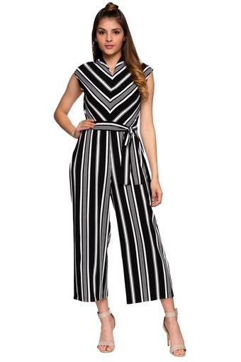 AND -  Black Mix Jumpsuit - Main