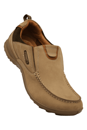 WOODLANDMens Leather Slipon Casual Shoe