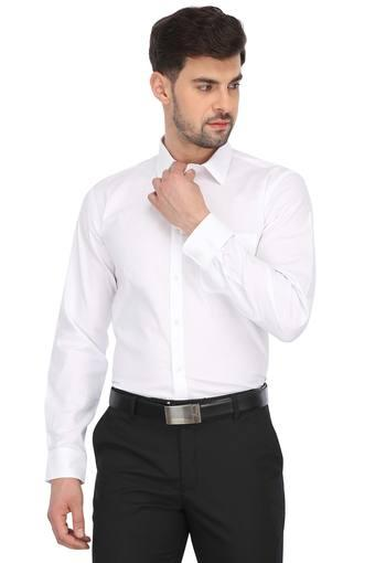 RS BY ROCKY STAR -  WhiteFormal Shirts - Main