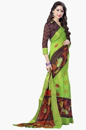 DEMARCAWomens Silk Designer Saree - 202338111