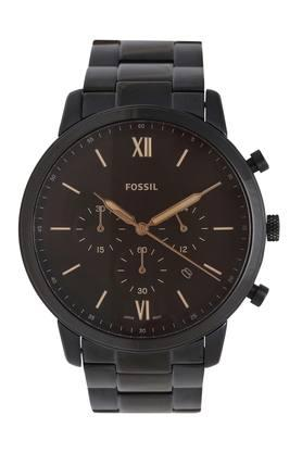 Mens Brown Dial Chronograph Watch - FS5525