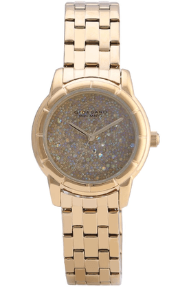 GIORDANO Womens Full Gold Metal Analog Watch- P2033-22