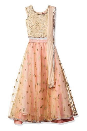 BIBA GIRLS -  Pink MixIndianwear - Main