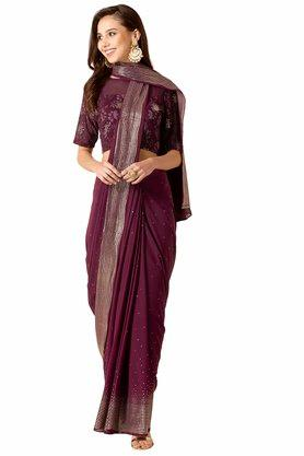 INDYA - Purple Women Ethnic Wear - Main