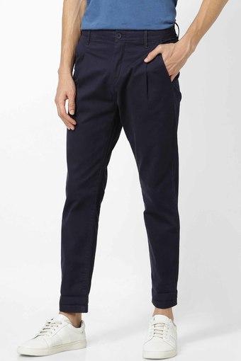 CELIO -  NavyCasual Trousers - Main