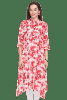 KASHISHWomens Floral Print Kurta