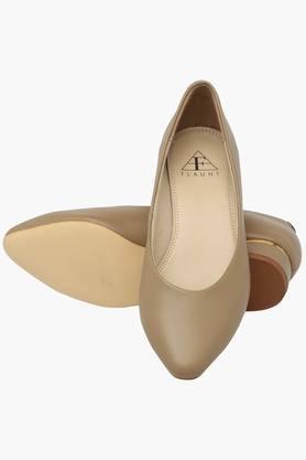 Womens Formal Wear Slip On Heel Shoes