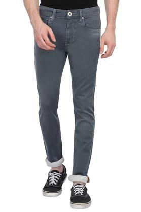 Mens Extra Slim Fit Rinse Wash Jeans
