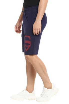 Mens 3 Pocket Superman Print Shorts