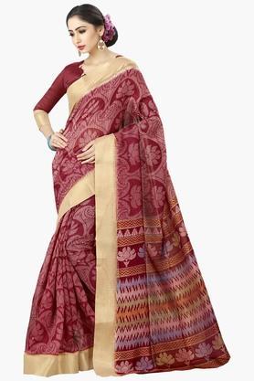 DEMARCAWomens Silk Designer Saree - 202338177