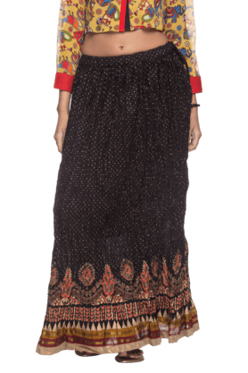 STOP Stop Womens Full Length Skirt