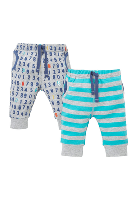 MOTHERCARE Baby Number And Striped Leggings - Pack Of 2