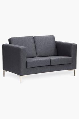 Passive Grey Fabric Sofa (2 - Seater)