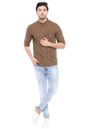 FCUK - Brown Casual Shirts - 3
