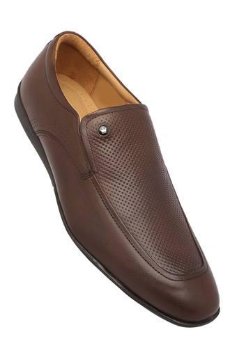 LOUIS PHILIPPE -  Brown Formal Shoes - Main
