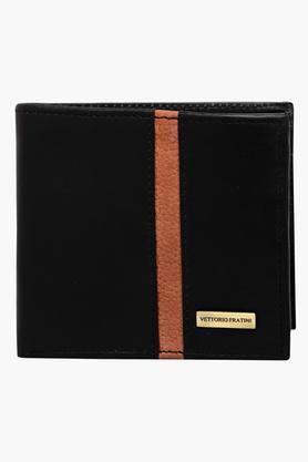VETTORIO FRATINIMens Leather 1 Fold Wallet - 202223415