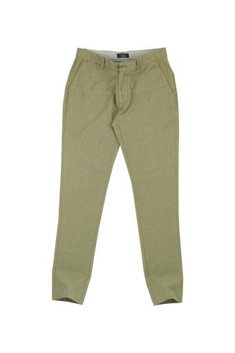 INDIAN TERRAIN -  OliveCasual Trousers - Main