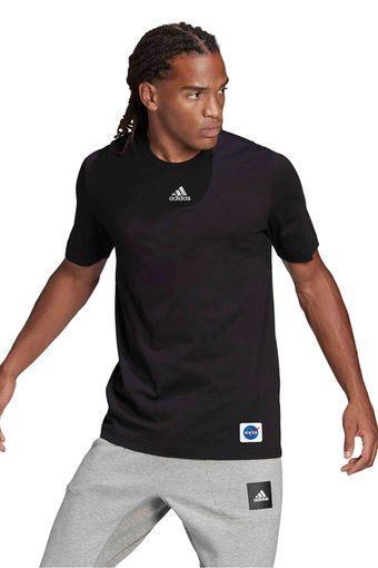 ADIDAS -  BlackT-Shirts - Main
