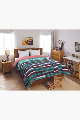 Bohochic Aqua 150 GSM Cotton Double Comforter