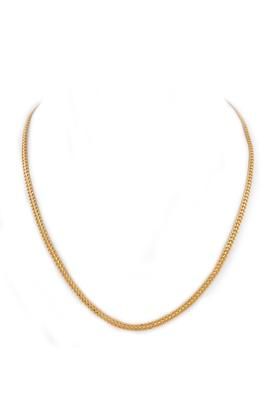 WHP JEWELLERS Mens 22K Yellow Gold Coimbatore Chain GCHD15080852