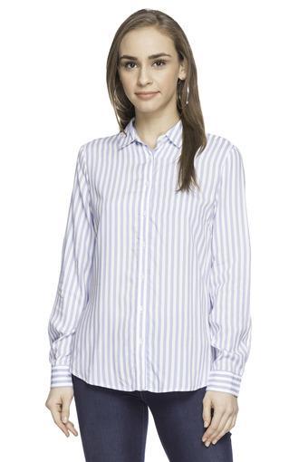 ALLEN SOLLY -  Mid BlueShirts - Main