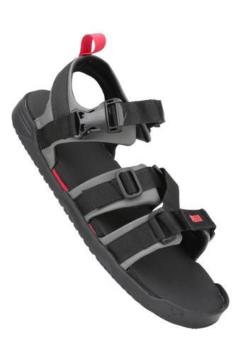 Mens Buckle Closure Sandals