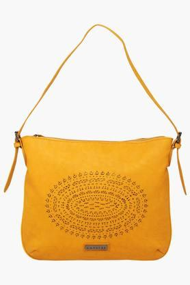 CAPRESEWomens Zipper Closure Shoulder Bag - 201179562