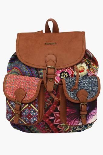 Womens Rucksack Closure Backpack