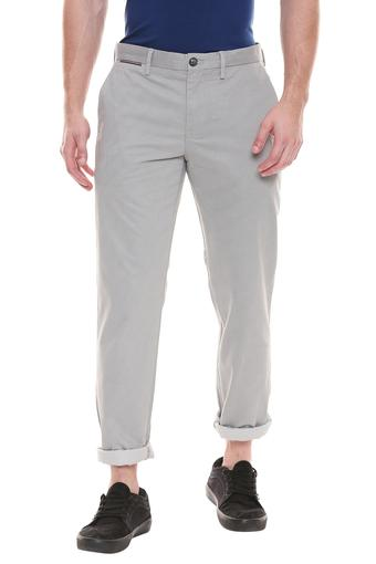 TOMMY HILFIGER -  Grey Casual Trousers - Main
