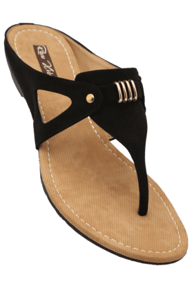 RAW HIDE Womens Casual Slipon Wedge Chappal - 200805905