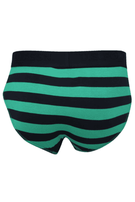 Mens Cotton Stripe Briefs