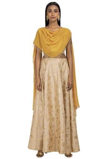 INDYA -  Burnt OrangeINDYA - Shop for Rs.4000 And Get Rs.750 Off - Main