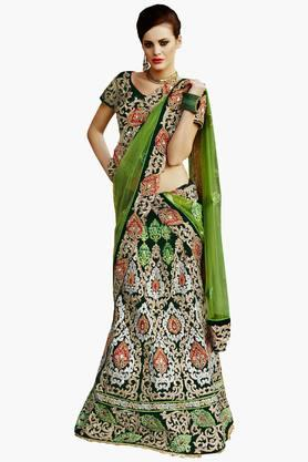 MAHOTSAV Womens Embellished Semi-stitched Lehenga Choli - 201643940
