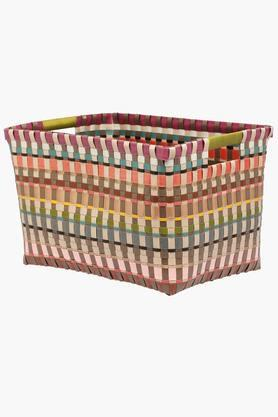 IVY Rectangular Basket With Handle - Medium