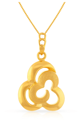 MALABAR GOLD AND DIAMONDS Womens Malabar Gold Pendant - 201594252