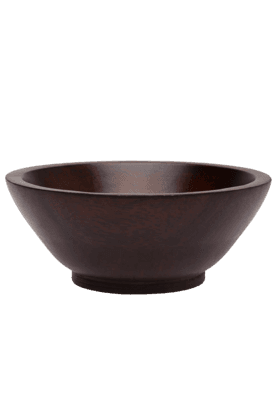 BACK TO EARTH Wooden Bowl