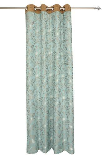 ARIANA -  Royal BlueDoor Curtains - Main
