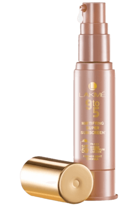 LAKME 9 To 5 Mattifying Super Sunscreen + Spf 50 Pa +++