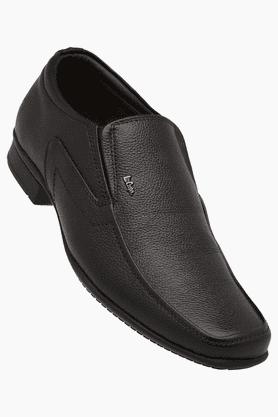 Lee Cooper Formal Shirts (Men's) - Mens Slipon Leather Smart Formal Shoe