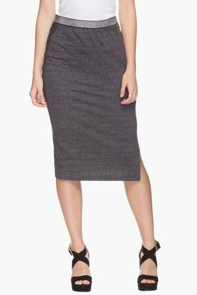 LIFE Womens Slub Pencil Skirt