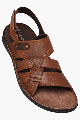 VETTORIO FRATINIMens Casual Velcro Closure Sandal