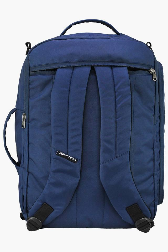 Unisex 2 Compartments Zipper Closure Laptop Backpack