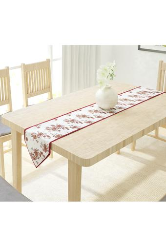 Floral Printed Table Runner
