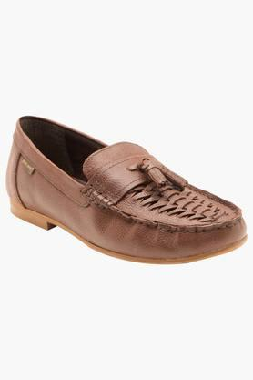 RED TAPE Mens Leather Slip On Formal Loafers - 202004373