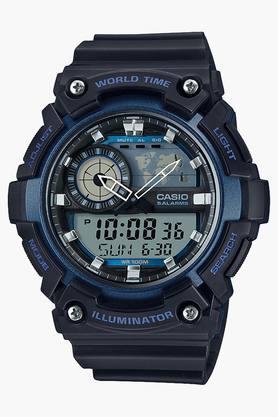CASIOMens AEQ-200W-2AVDF (AD211) Youth Combination Analog-Digital Watch