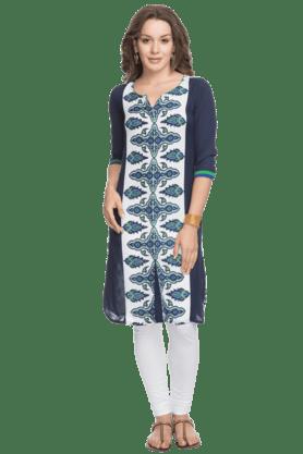 KASHISHWomen 3/4th Sleeves Regular Fit Kurta
