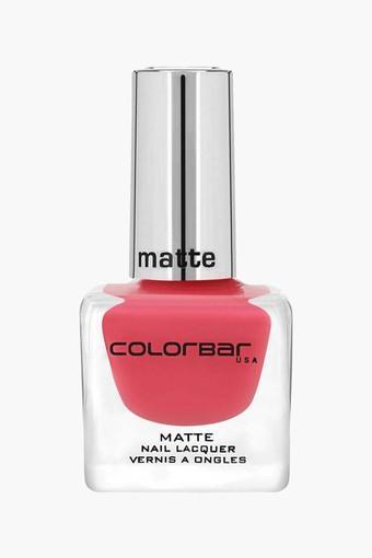 Colorbar Matte Nail Colour- Blackness