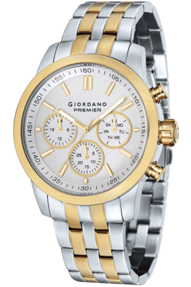 Mens Round Dial Watch - P184-33